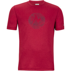 Marmot Transporter SS Tee Herr sienna red heather